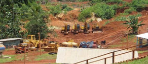 """The production of gold from the property by the artisanal miners has not been based on a feasibility study"""