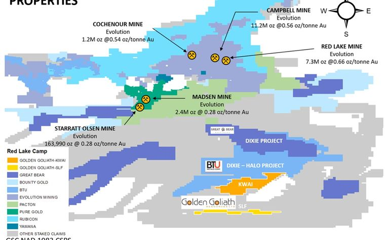 Golden Goliath permitted for Red Lake drilling