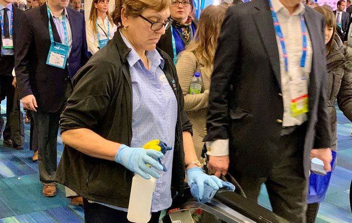 PDAC convention attendee tests Covid-19-positive