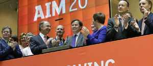 AIM resource stocks show recovery