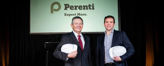 Perenti emerges from smaller Ausdrill skin
