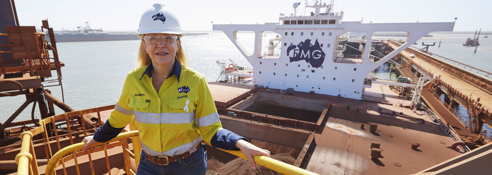 FMG hits all-time high on record quarter
