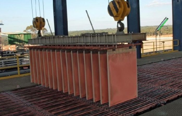 Chile copper costs fall to 2014 levels