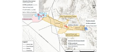 PEA suggests 'robust, mid-tier' mine at Kore's Imperial project