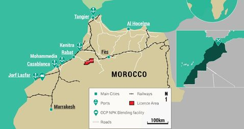 Morocco potash play boasts of infrastructure advantage