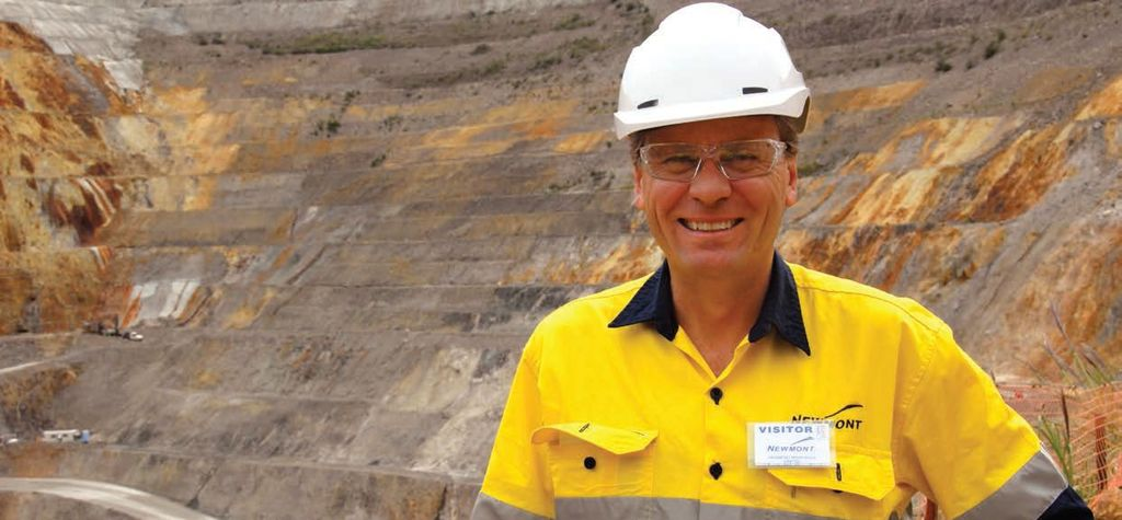 Tom Palmer on Newmont shareholder returns, ESG, technology and asset trimming