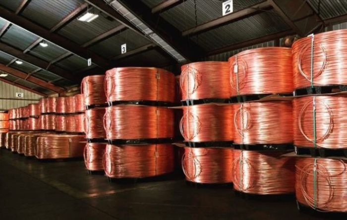 Copper surges as China takes a break