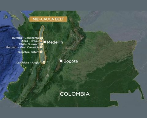 Newmont, Agnico team up in Colombia