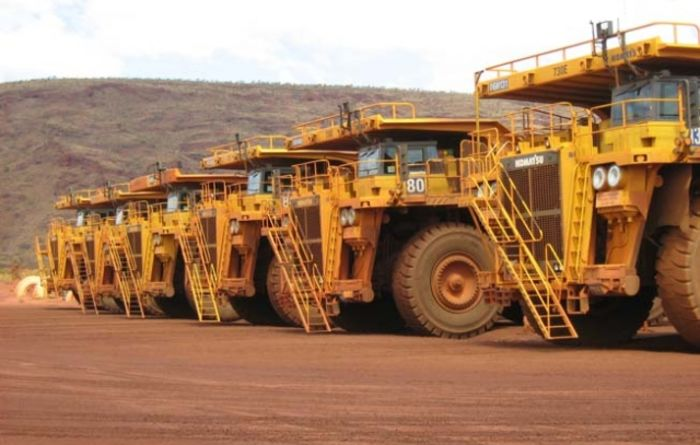 Strong iron ore shores up Rio Q1