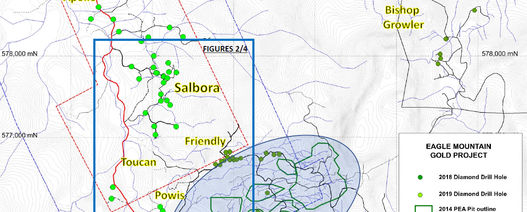 Goldsource reveals Powis discovery at Eagle Mountain