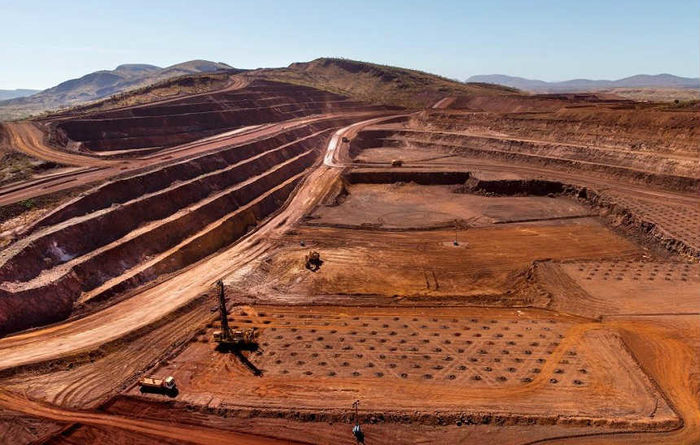Dark clouds gather over iron ore