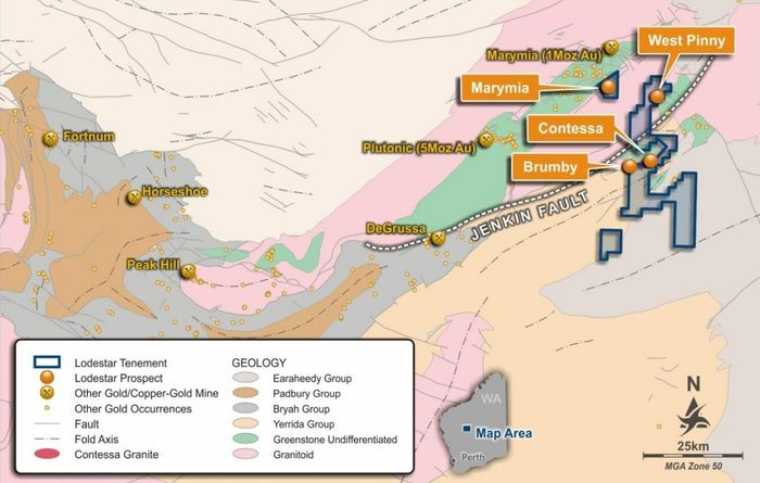 Gold discovery boosts Lodestar shares