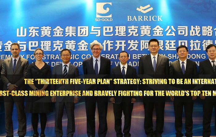 Barrick books tidy profit from Shandong share sale