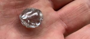 Record large diamond recovered at Kareevlei