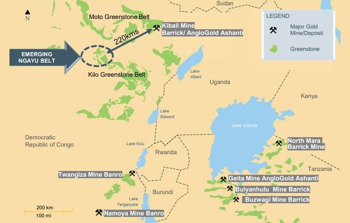 Barrick starts drilling at Loncor JV