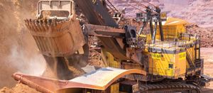 South Africa's mining output falls