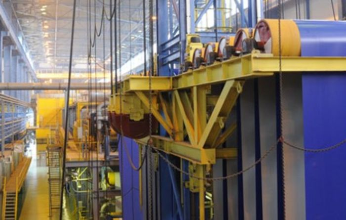 Severstal steel output falls in Q4