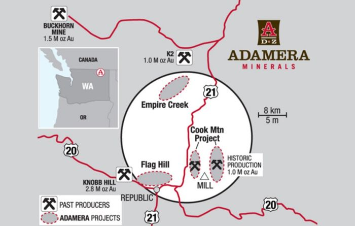 Adamera, Hochschild start exploration