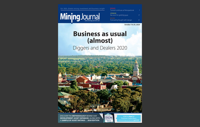 Mining Journal eMagazine: 16th October 2020