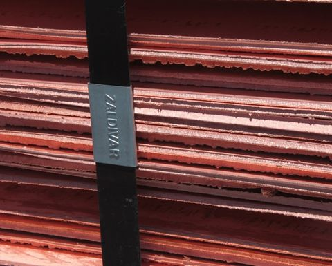 Copper at nine-year high