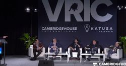 VRIC plans blockbuster show as gold bounces back