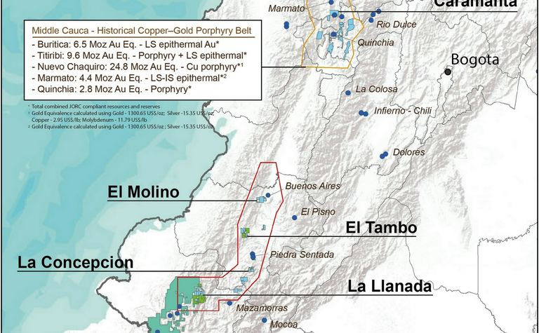 Royal Road gets AngloGold Colombia exploration package