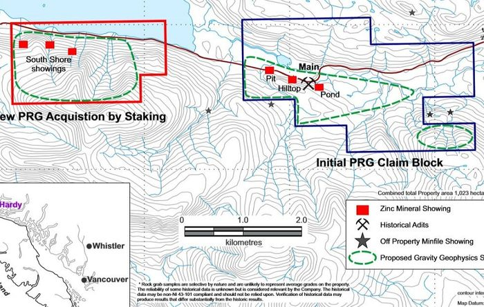Precipitate expands Island Zinc project