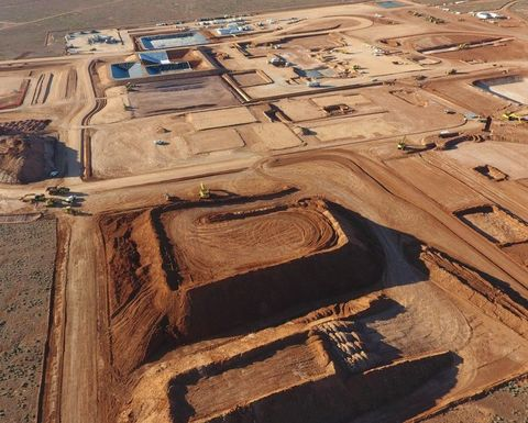 Production from big new copper mine close
