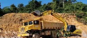 Monument starts delayed trial mining in Malaysia