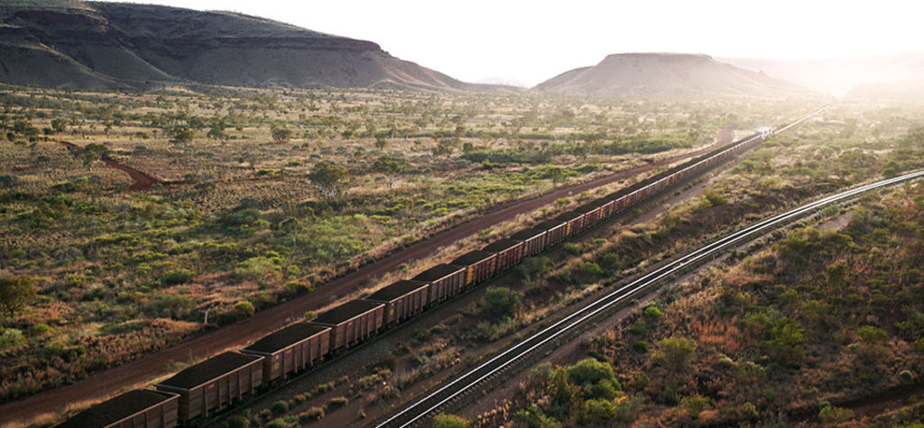 Rio Tinto's rail robot delivers its first load