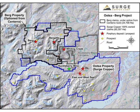 Surge to acquire 70% of Centerra project in BC