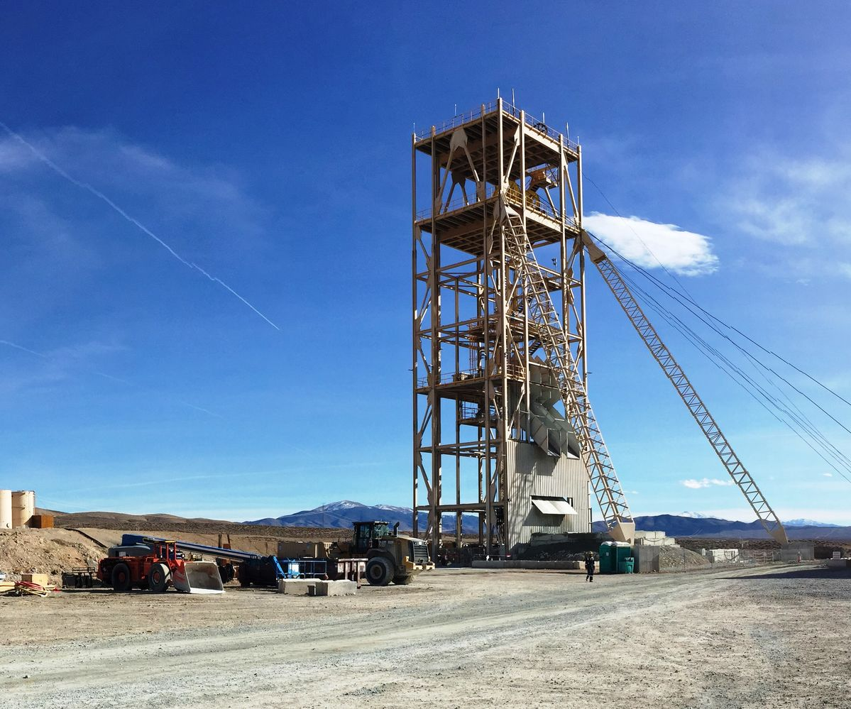 evada oppers umpkin ollow copper project is the only new permitted copper mine in orth merica