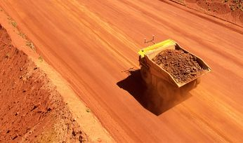Iron ore at five-year high