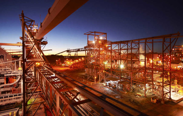 BHP's iron ore guidance hit by March quarter output