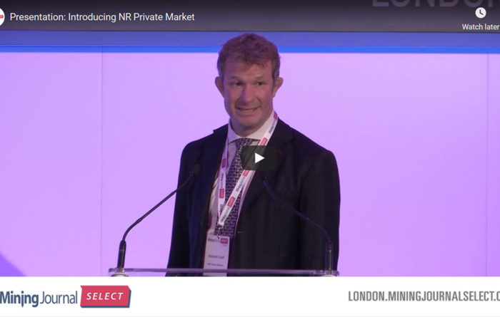 Mining Journal Select 2019: Introducing NR Private Market