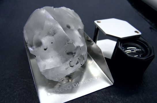 Gem recovers largest ever Letšeng diamond