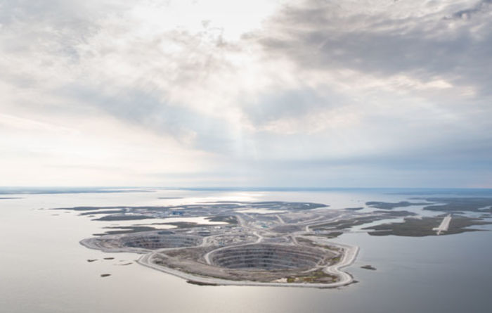 Rio opens fourth Diavik pipe