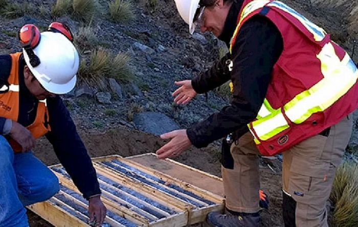 Centenera's first drill hole excites
