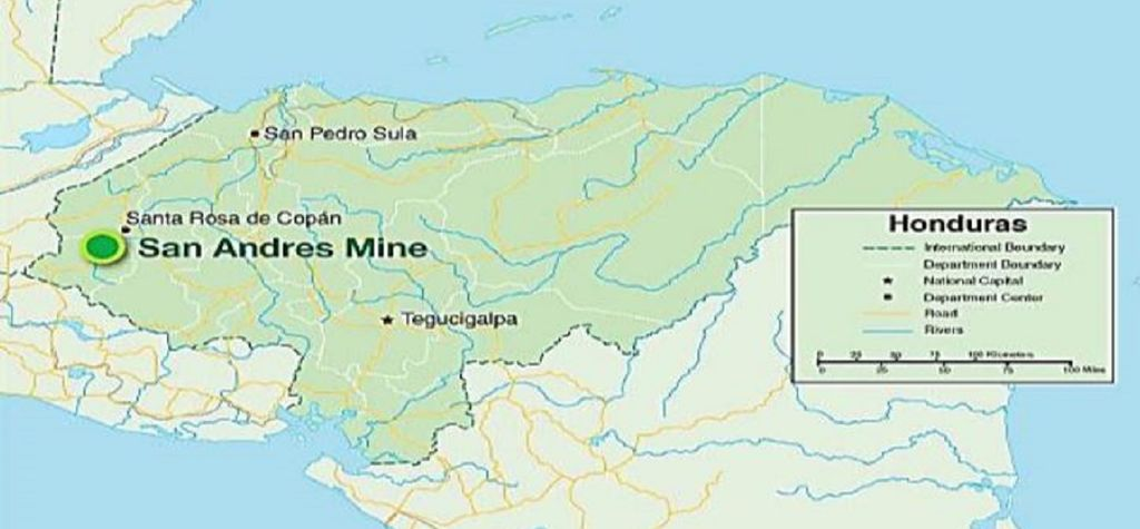 Aura cuts staff, outlook at Honduras mine