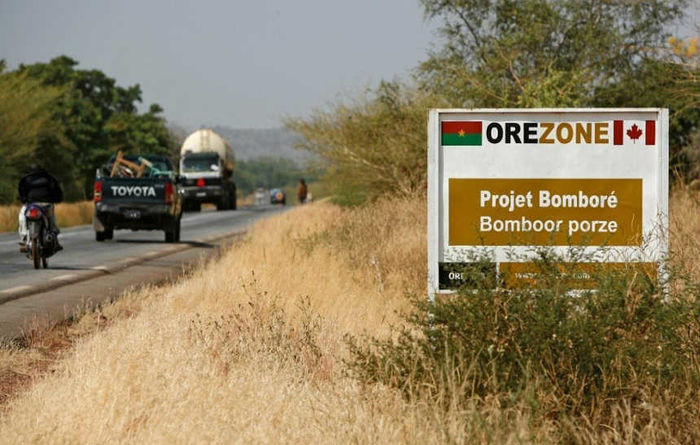 Orezone to raise US$34.8 million for Bomboré