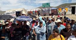 """They will accept the [Newmont] projects but give us back our water"""