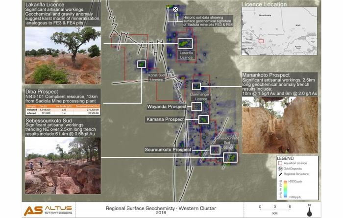 Altus aims for oxide gold in Mali