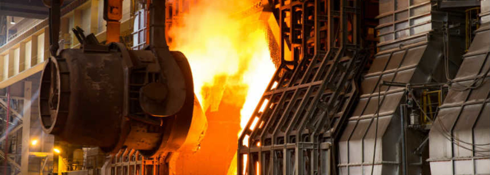 Steel output on the up