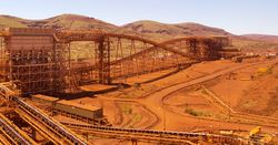Iron ore, miners on the rise