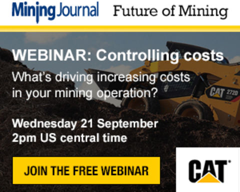 WEBINAR: Controlling costs - What's driving increasing costs in your mining operation?