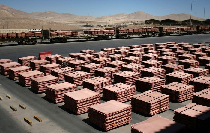 Copper price fall to squeeze Chile
