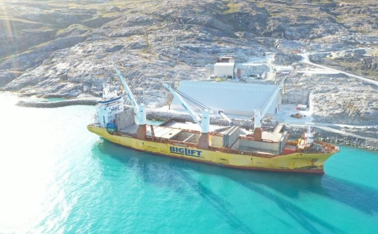 Hudson makes first bulk shipment from Greenland