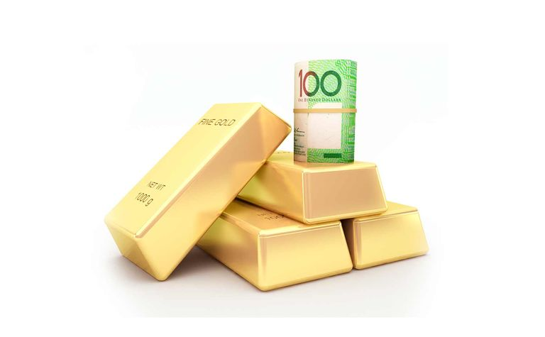 Australian gold price through $2,300/oz