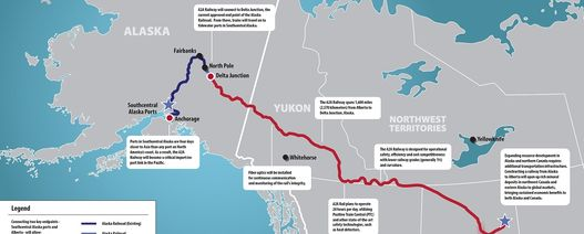 Alaska-Alberta railway awaits Trump sign off
