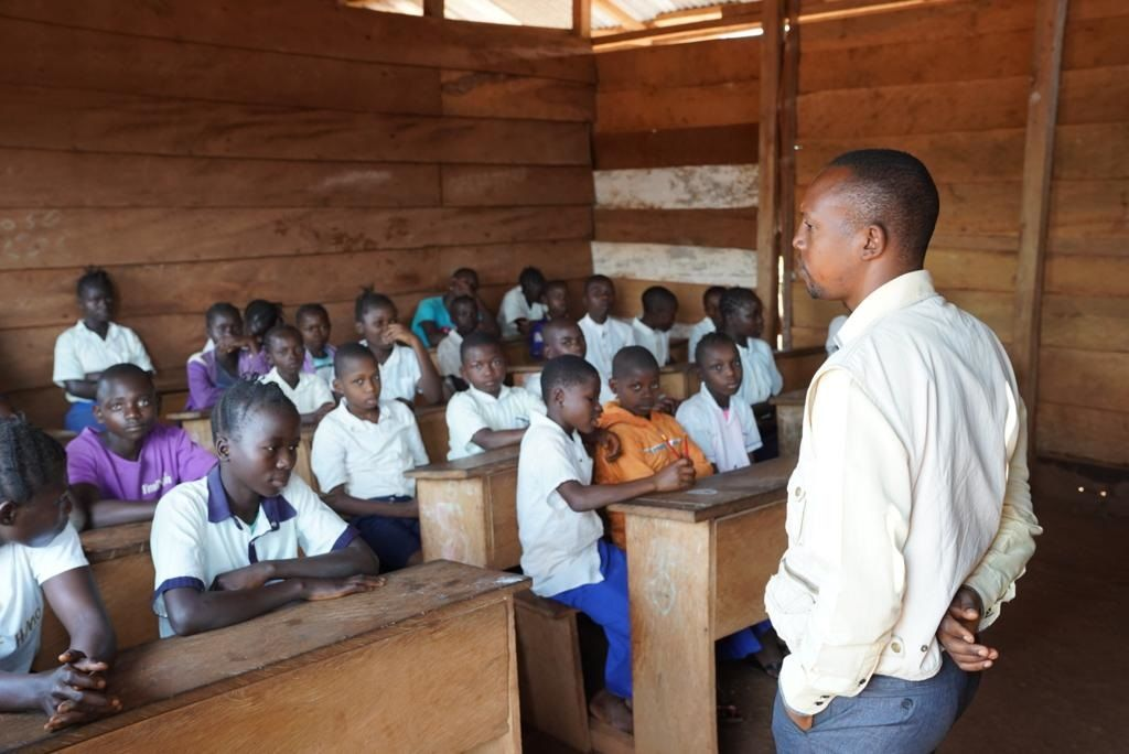 local school mani old helped finance now has 300 students